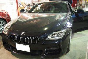 BMW6シリーズ スピーカー交換&デッドニング