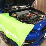 千葉県よりご来店のスバルWRXにパンテーラのカーセキュリティーを施工させていただきました。