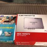 千葉県よりご来店のランドクルーザー100にTVチューナーを取付けさせていただきました。