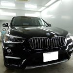 BMWX3にフロアデッドニング作業を行いました。千葉県船橋市よりご来店です。