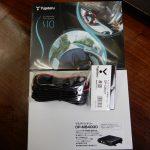MINIにセキュリティー機能付きドラレコ ユピテルS10 取り付けました。長野からリピーター様のご来店です。