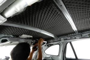 BMW X5フルデッドニング