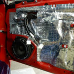 トヨタ86にブラムのスピーカー交換とデッドニング作業をご依頼頂きました。