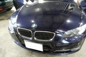 BMW335ドアデッドニング施工
