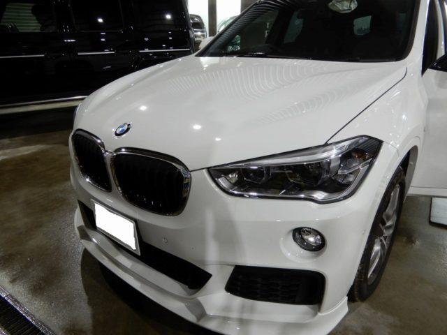 BMW X1デッドニング施工&フォーカルスピーカー