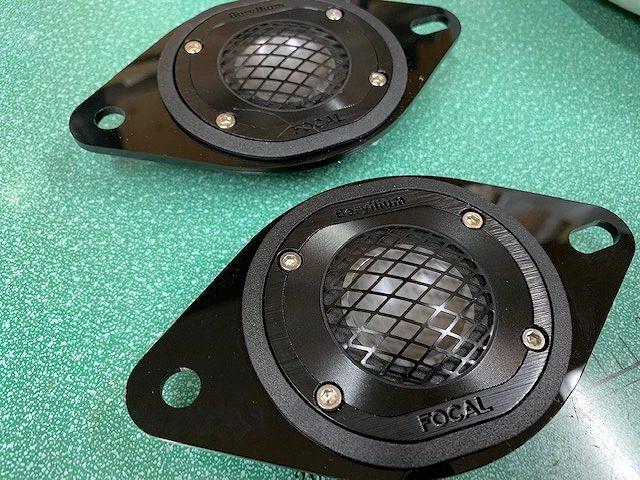 新型スバルWRXにデッドニング施工&フォーカルスピーカー
