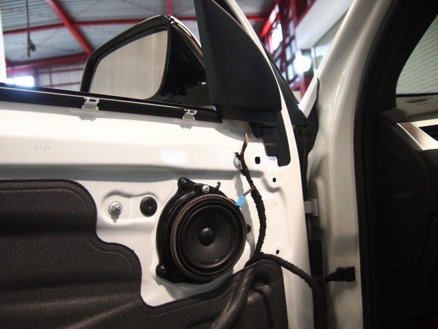 BMW X3がご入庫!フォーカルスピーカー