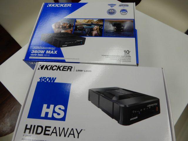 本日1/7 アメリカ 日本同時発売! KICKER HS10 ウーハーをご紹介させていただきます。