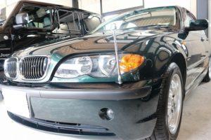 BMW 320iにドライブレコーダーを取り付け