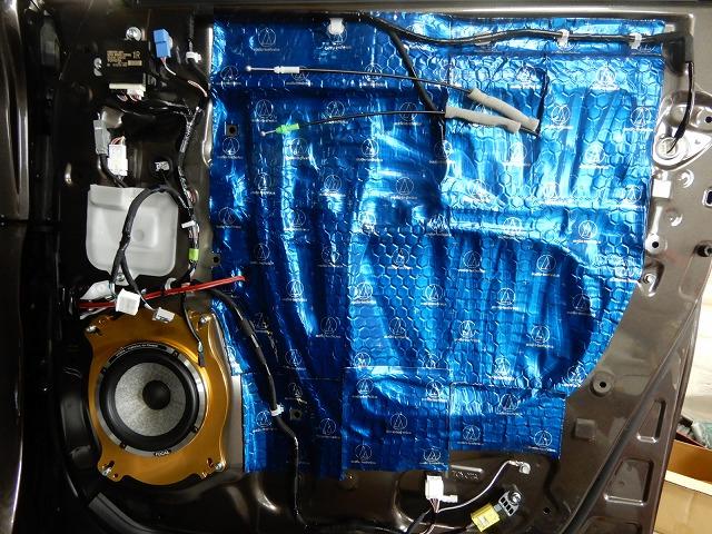 トヨタ・アルファードのスピーカー交換 フォーカルスピーカーの画像