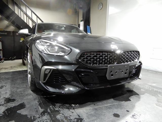 BMW Z4 にスピーカー交換とフロントドアデットニング
