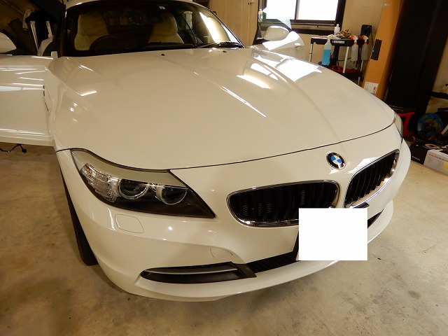 BMW フロントドアデットニング、スピーカー交換