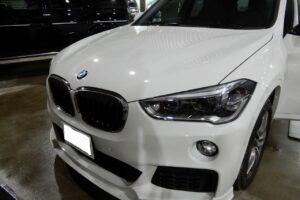 BMWX1 ドアデッドニング施工画像