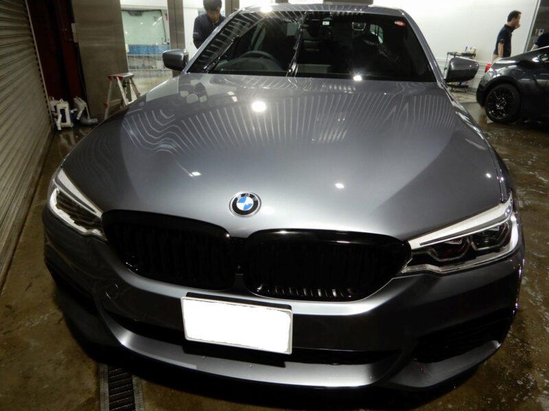 BMW デッドニング施工画像