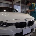 BMW320d EXEコーティング施工