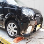 弊社の代車が事故で入院となりました。