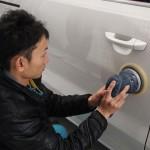 千葉県八千代台からお越しのシャランにクォーツガラスコーティングを施工させていただきました。