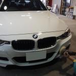 BMW M3ハイモースコートを施工しました。