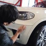 BMW X5のエグゼコーティングを施工させていただきました。