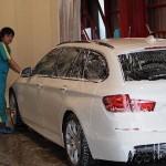 BMW5シリーズ クォーツガラスコーティング