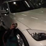 BMWx1高膜厚のエシュロンコーティングを施工しました。