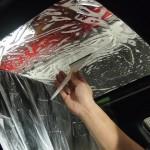 レクサスISに断熱フィルム,フロントガラスとサンルーフに施工させていただきました。