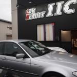 BMW3シリーズにスモークフィルムを施工しました。