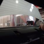 品川区よりお越しのベンツにラッピングフィルム施工しました。
