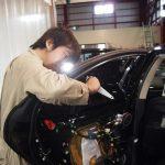 埼玉県より起こしのレクサスLSに断熱フィルムリアセットを施工させて頂きました。