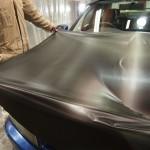 神奈川県よりご来店のY様のお車にカーボンフィルムをボンネット&天井に施工させて頂きました。
