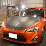 東京都よりご来店のトヨタ86にラッピング施工しました。