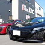 千葉県千葉市からお越しの新車ホンダNSXにカーボンラッピングを施工させていただきました!