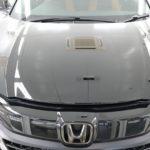 東京都からお越しの新車ホンダヴェゼルに大人気ピラーカーボンラッピングを施工!
