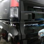 ホンダ・ステップワゴンが東京都足立区よりご入庫され、断熱フィルムをリアウィンドウに施工させて頂きました!