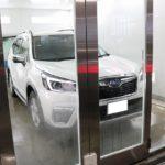 千葉県松戸市からご来店の新車スバルフォレスターに断熱フィルム『シルフィード』を施工しました。