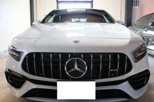 新車メルセデスベンツAMG A45Sにカーフィルムを施工