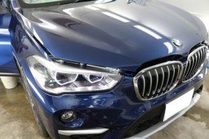 BMW X1に断熱フィルム施工