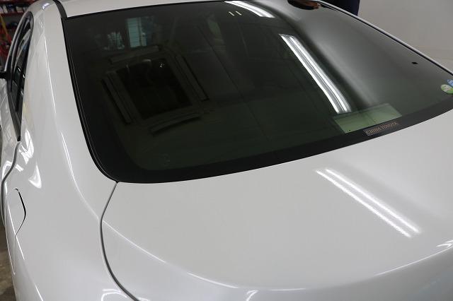 トヨタ・アリオンにLFT断熱フィルム施工後 リアガラスの画像