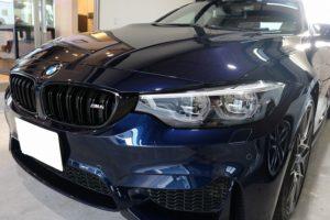 BMW M4にLFTフィルムを施工