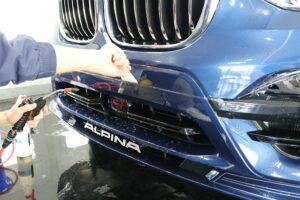 BMWアルピナXD3 プロテクションフィルム アイアイシー