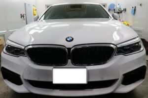 BMW523 LFTウィンドウフィルム施工画像