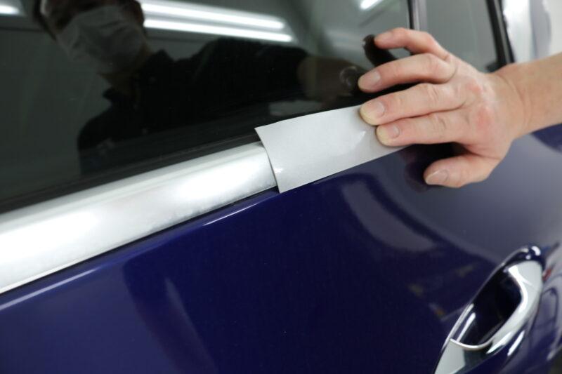 BMW Z4にフロントセット施工です(`・ω・´)ゞ プロテクションフィルム 業界トップブランド  XPEL ULTIMATE PLUS フロントセット