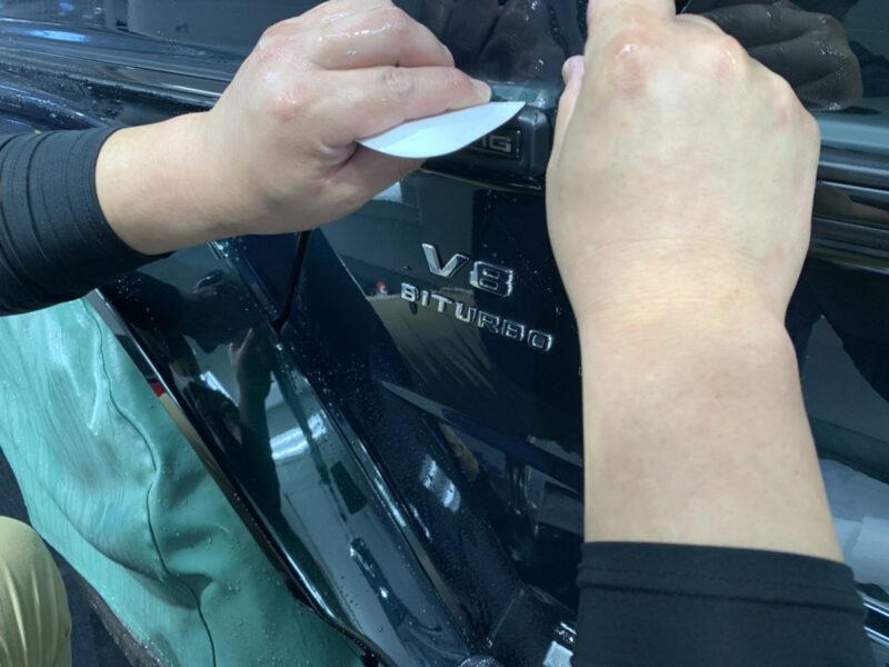 メルセデスベンツ G63にPPF施工中です!!! ZEL  プロテクションフィルム