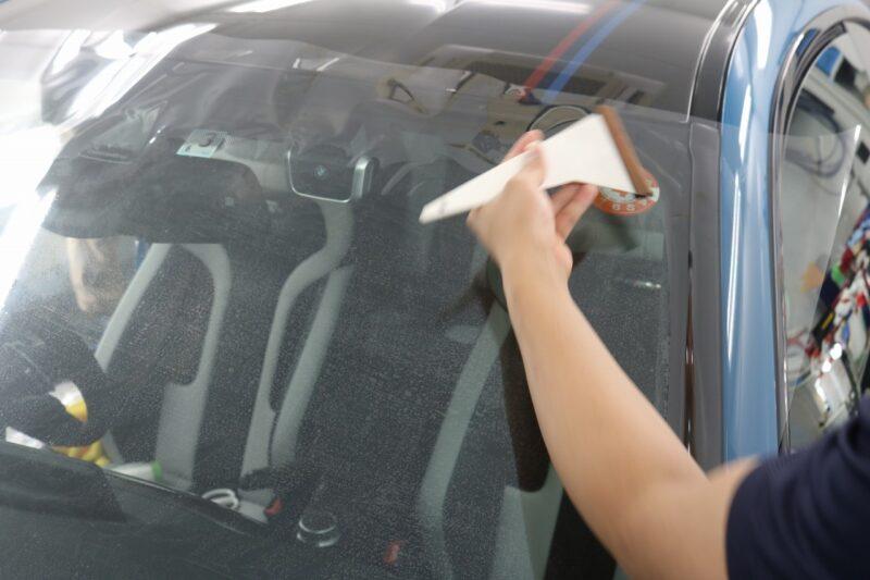 BMW M4 LFT断熱フィルム フロントセット 画像