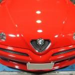 アルファロメオ GTV TTクリアーコート