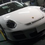 ポルシェ 911 GT3 クォーツガラスコーティング メンテナンス