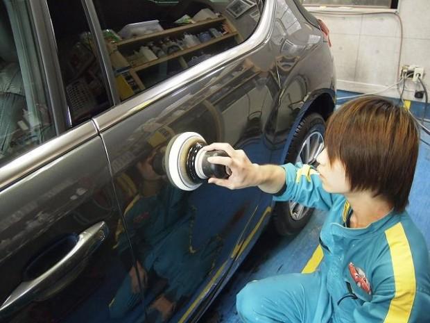 シトロエンC4 高級ガラスコーティング