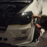 BMW:X5 ヘッドライトプロテクションフィルム
