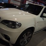BMW X5 EXEコーティング施工