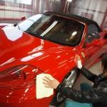 フェラーリ360スパイダー TTクリアコート
